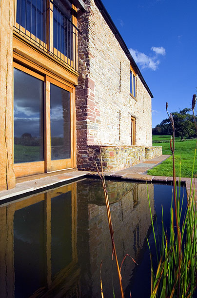 Kempley Barns stone barns self catering farmhouse holiday cottages in Ledbury, Wye Valley nr. the Malvern Hills